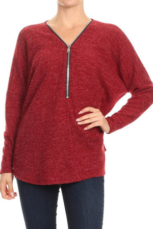 Freeloader Half Zip Sweater