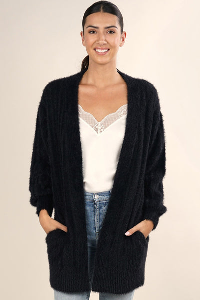 Cozy Ribbed Cardigan