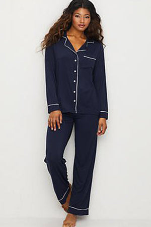 Barefoot Dreams Luxury PJ's Navy