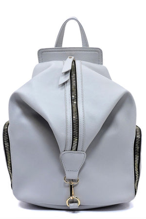 Vegan Zip Backpack