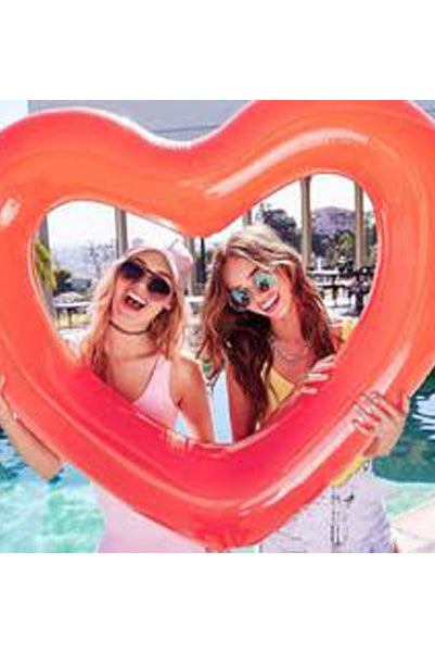 Heart Shaped Pool Float