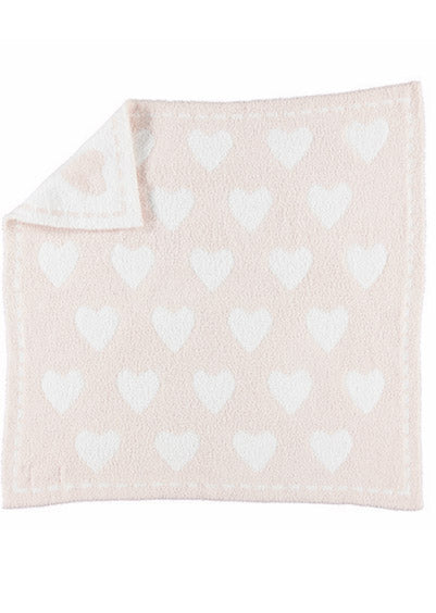Barefoot Dreams Heart Dream Receiving Blanket