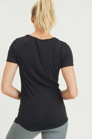 The Perfect Stretchy Tee