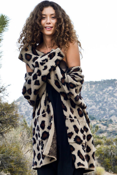 Lux Animal Print Cardigan