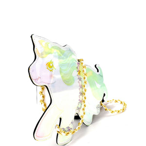 Hologram Baby Pony Crossbody Purse
