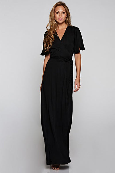 Love Stitch PERFECT Black Maxi