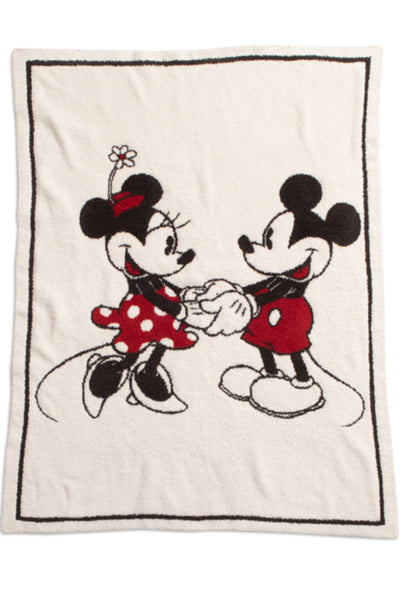 Barefoot Dreams Mickey and Minnie Disney Blanket PREORDER
