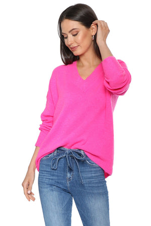 Hot Pink Stunner Sweater
