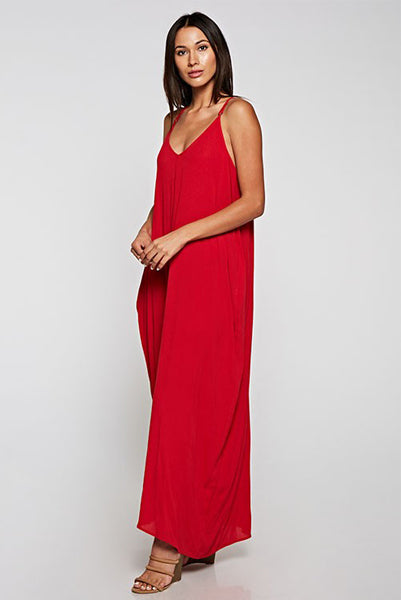 Gorgeous Cocoon Maxi Red