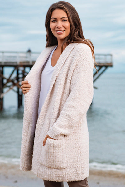 Barefoot Dreams Boucle Cardi Almond TOP SELLER