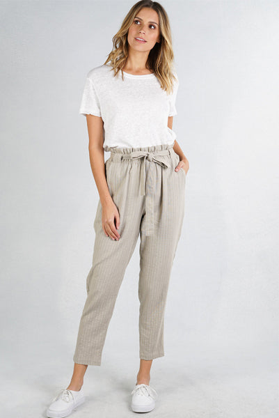Melody Striped High Waist Pants