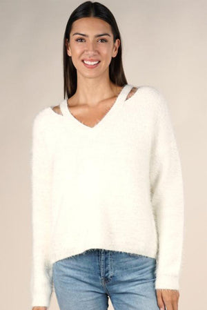 Cozy Bunny Spring Sweater