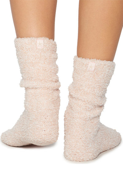 Barefoot Dreams Cozy Socks Pink