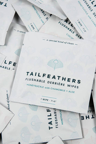NEW Tailfeathers Wipes