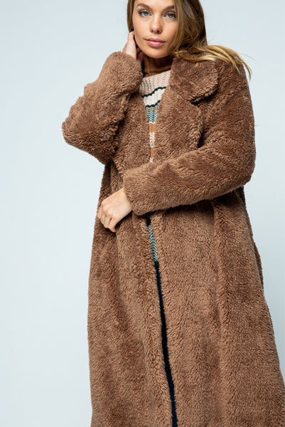 The Cutest Teddy Bear Coat Ever