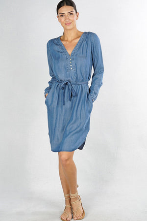 Tencel T-Shirt Dress