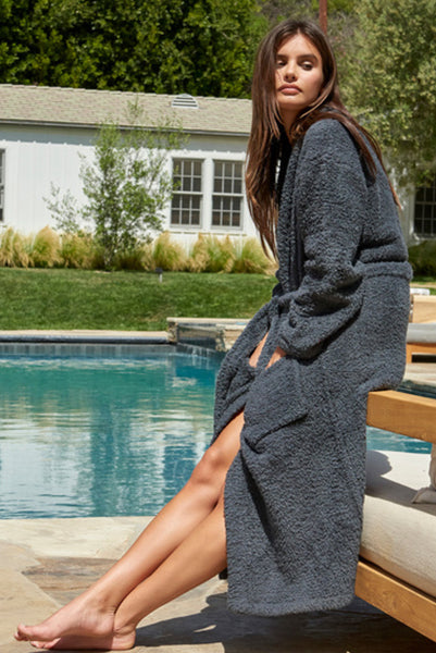 Barefoot Dreams Slate Robe