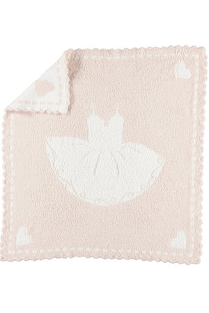 Barefoot Dreams Scalloped Baby Blanket w Tutu
