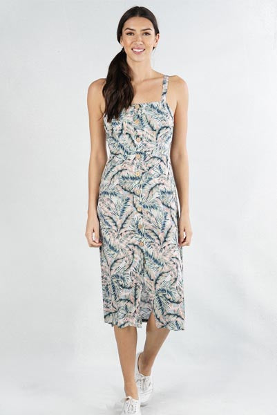 Patricias Palm Trees Dress