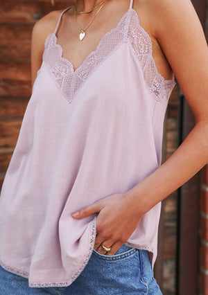 Date Night Cami Vintage Rose
