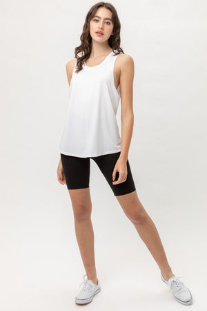 Basic White Summer Tank