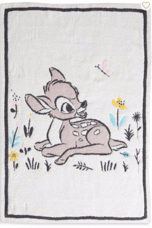Barefoot Dreams Limited Edition Bambi Stroller Blanket