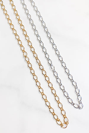Chain Link Necklace Medium