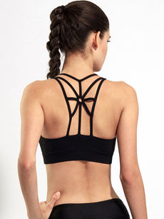 Strappy Back Sports Bra Sportswear