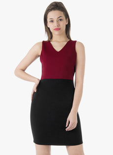 CLASSICS Bodycon Dress - Oxblood Black
