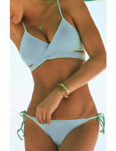 Green Sexy Summer Bikini Set
