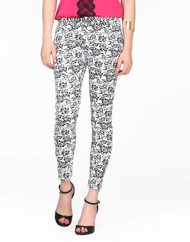 Floral Kick Pants - VS FASHIONS