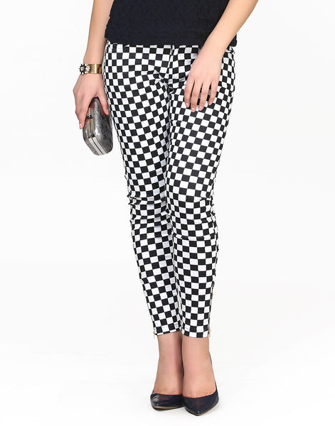 Chess Board Pants