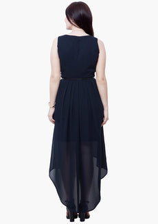 CURVE HiLo Dress - Navy