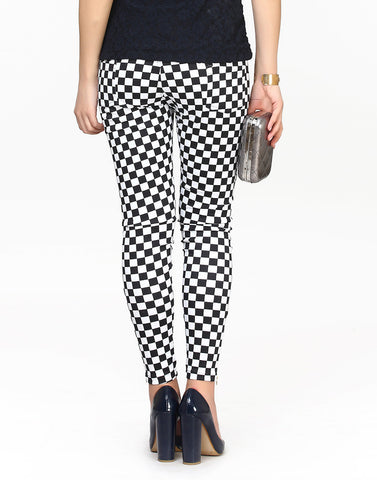 Chess Board Pants - VS FASHIONS