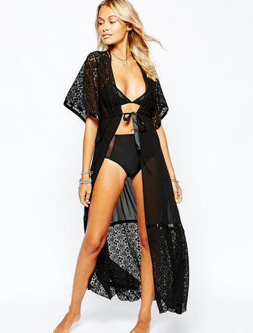 Black Cover Up - VS FASHIONS
