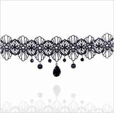 Gothic Retro Vintage Lace Necklace Collar Choker Necklace