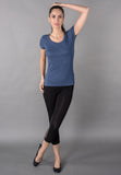 WOMEN ROUND NECK T SHIRT VS FASHIONS