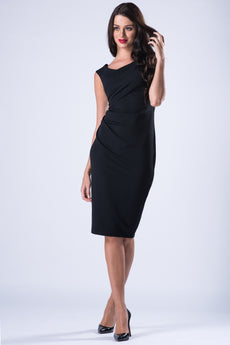 MIDI DRESS BLACK VS FASHIONS
