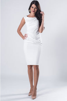 MIDI DRESS IVORY VS FASHIONS