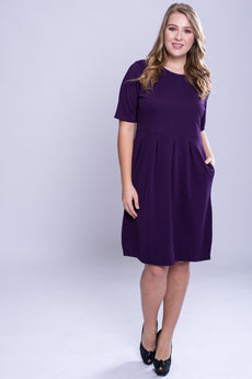 Pocket Detail Shift Dress