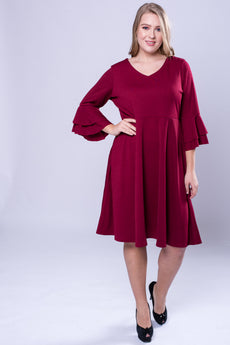 CURVE Flutter Sleeve Dress