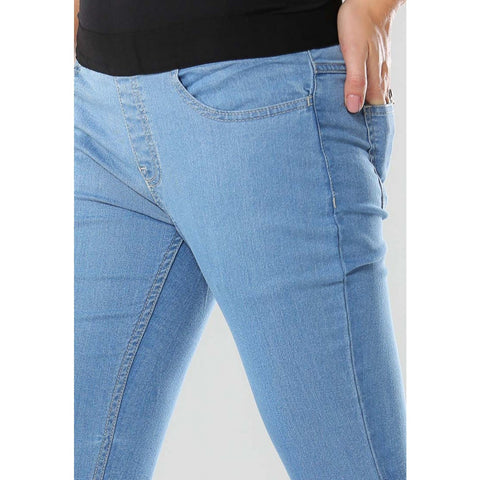 Go Colors Ladies Denim Jegging - bell bottom