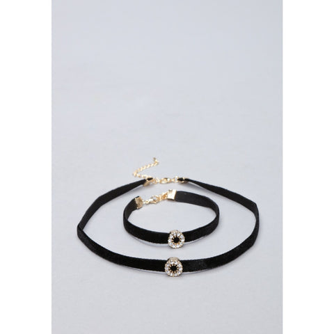 Choker Necklace With Bracelet - VS FASHIONS
