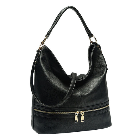 Francine Large Zipper Hobo - Melie Bianco - 5