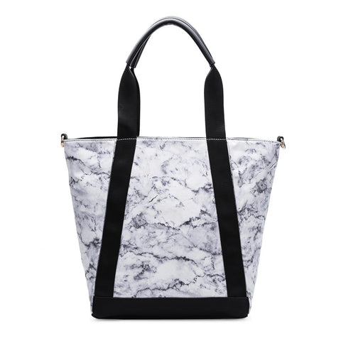 CT216 White Iona Travel Tote
