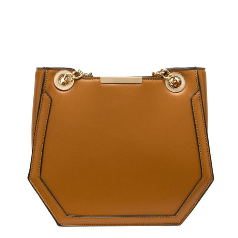 Reed Geometric Shoulder Bag - Melie Bianco - 8