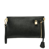 Misha Distressed Metallic Clutch - Melie Bianco - 10