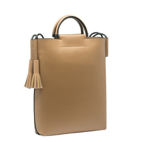 Alaia Large Top Handle Tote - Melie Bianco - 1