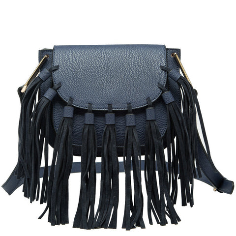 Blair Small Fringe Crossbody - Melie Bianco - 1