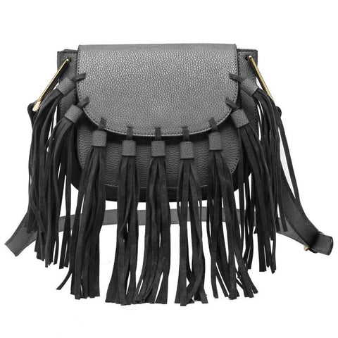 Blair Small Fringe Crossbody - Melie Bianco - 9